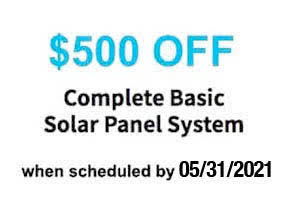 solar panels for home coupon